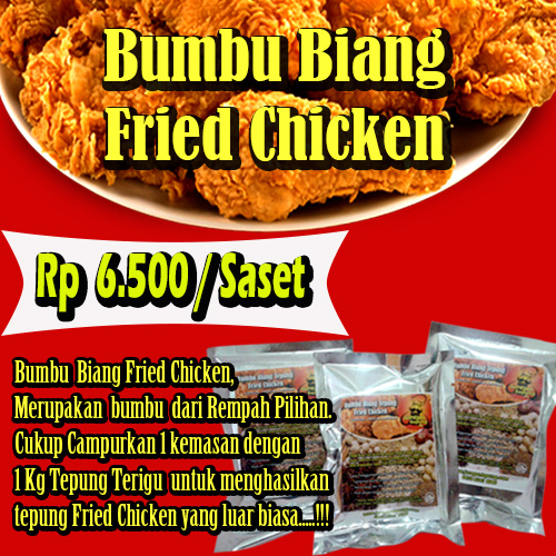 bumbu biang untuk fried chicken